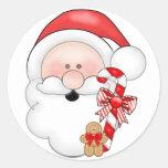 Pegatina del navidad de Santa