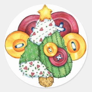 Pegatina del navidad - SRF