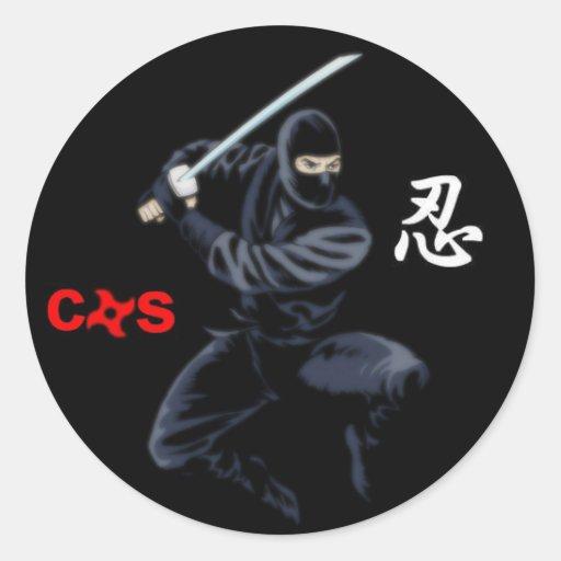 pegatina del ninja