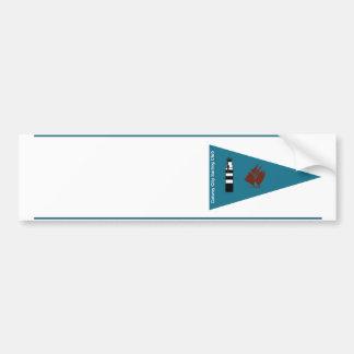 Pegatina del nombre del barco del club de la pegatina para auto
