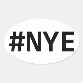 Pegatina del #NYE