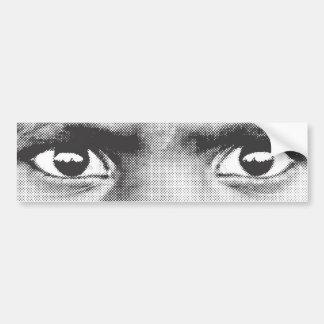 Pegatina del ojo 1 pegatina para auto