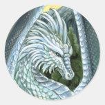 Pegatina del ópalo del dragón