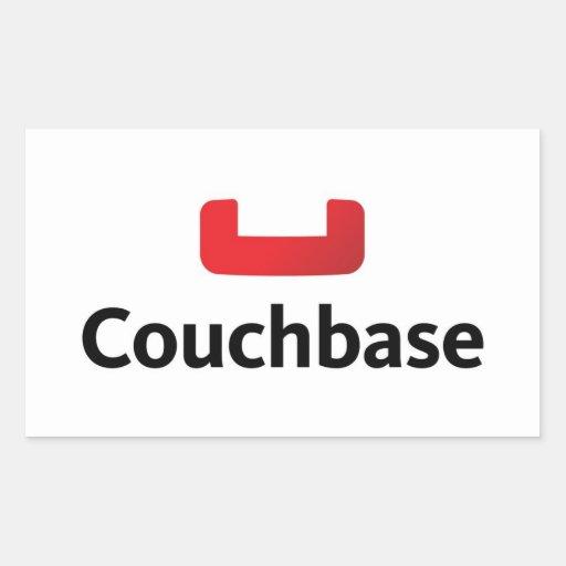 Pegatina del ordenador portátil de Couchbase