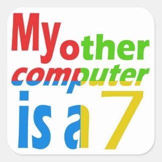 Pegatina del ordenador portátil de Windows para el
