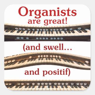 pegatina del órgano
