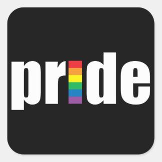 Pegatina del orgullo