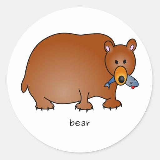 Pegatina del oso