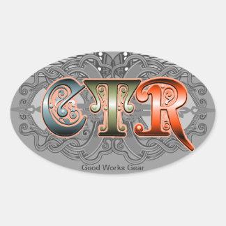 Pegatina del óvalo del CTR FLS G3