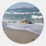 Pegatina del paisaje marino