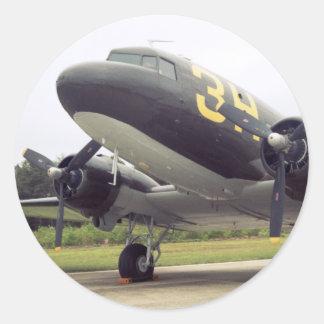 Pegatina del pájaro de C-47/DC-3 Gooney