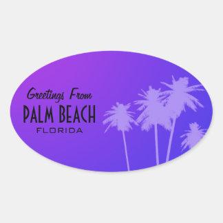 Pegatina del Palm Beach