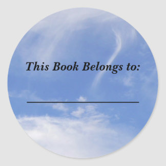 Pegatina del paño grueso y suave y del libro de