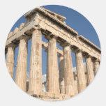 Pegatina del Parthenon