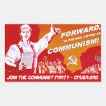 Pegatina del Partido Comunista