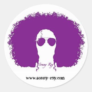 Pegatina del pelo de Sonny Rey