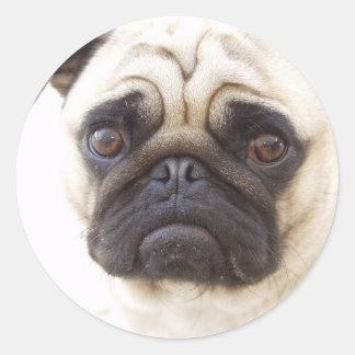 Pegatina del perro del barro amasado