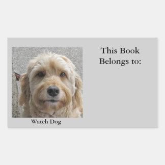 Pegatina del perro guardián