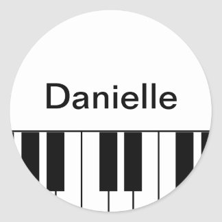 "Pegatina del ""piano"""