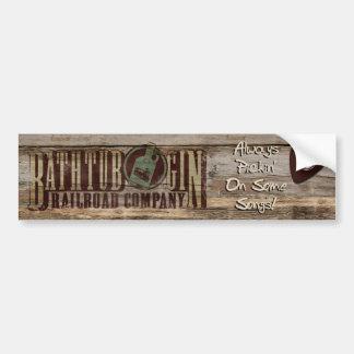 Pegatina del pickin de Railroad Company de la gine Pegatina Para Auto