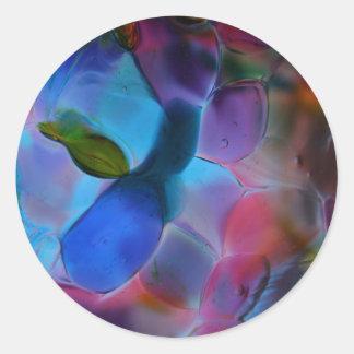 """Pegatina del """"planeta de cristal"""""""