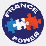Pegatina del poder de Francia