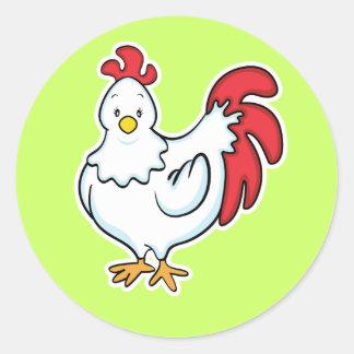 Pegatina del pollo