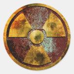Pegatina del polvillo radiactivo