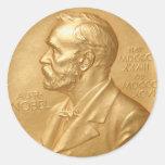 Pegatina del Premio Nobel