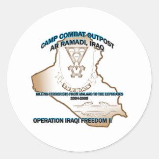 pegatina del puesto avanzado de combate 1-503o