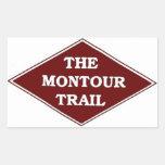 Pegatina del rastro de Montour