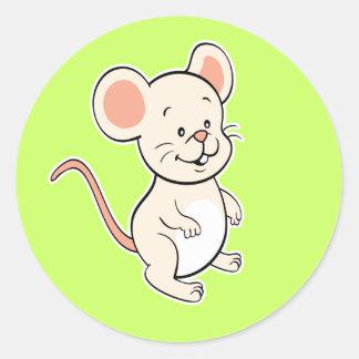 Pegatina del ratón