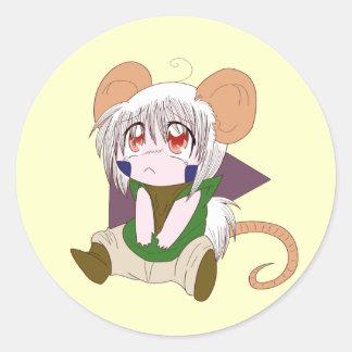 Pegatina del ratón de Rei Elvor-