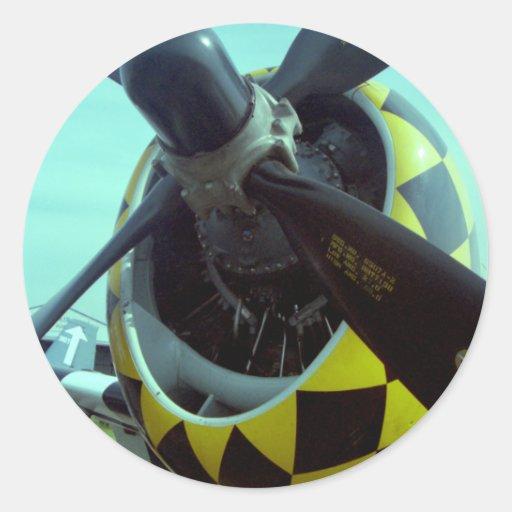 Pegatina del rayo P-47