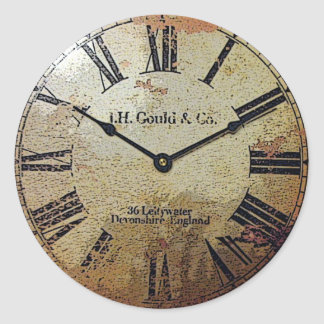 Pegatina del reloj