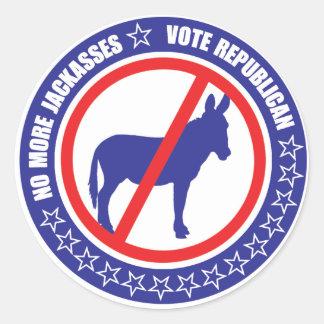 pegatina del republicano del voto