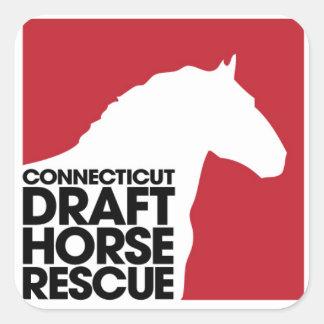 Pegatina del rescate del caballo de proyecto del