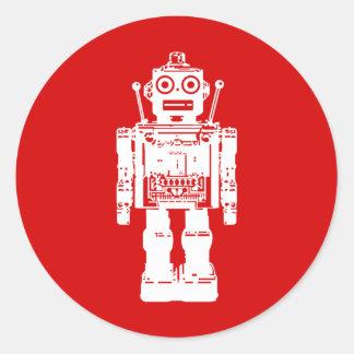 Pegatina del robot