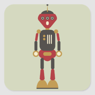 pegatina del robot 3-Eyed