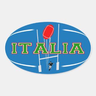 Pegatina del rugbi de Italia