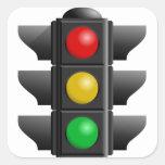 Pegatina del semáforo
