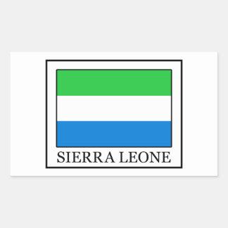 Pegatina del Sierra Leone