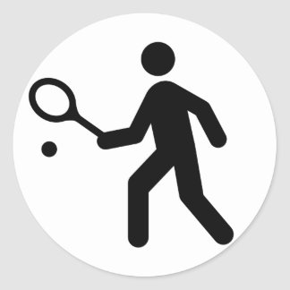 Pegatina del símbolo del tenis