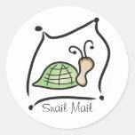 Pegatina del snail mail