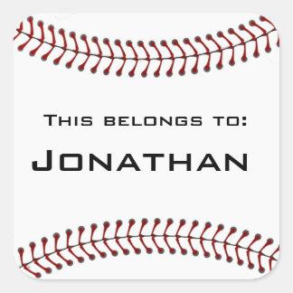 Pegatina del softball del béisbol
