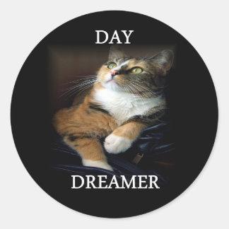 Pegatina del soñador del día