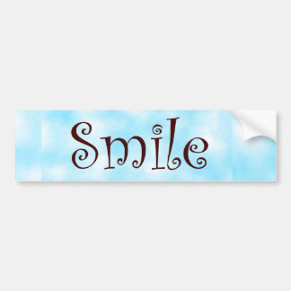 pegatina del Sonrisa-parachoque Pegatina Para Auto