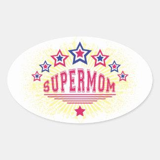 Pegatina del Supermom