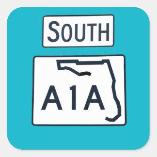 Pegatina del sur de la muestra de A1A