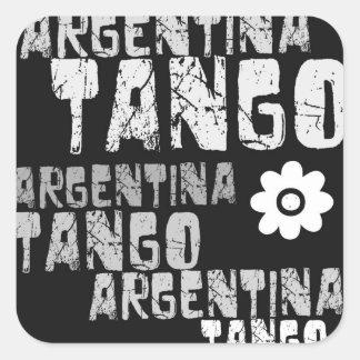 Pegatina del tango de la Argentina